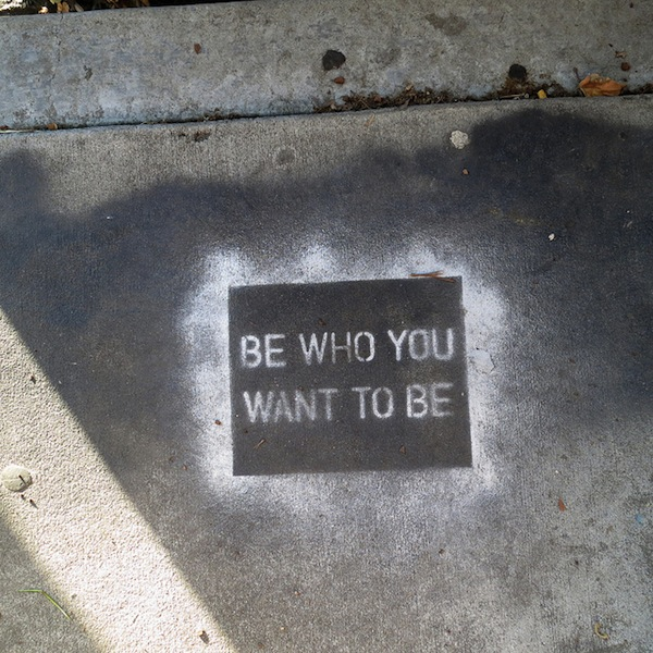 Using street art to deliver positive messages