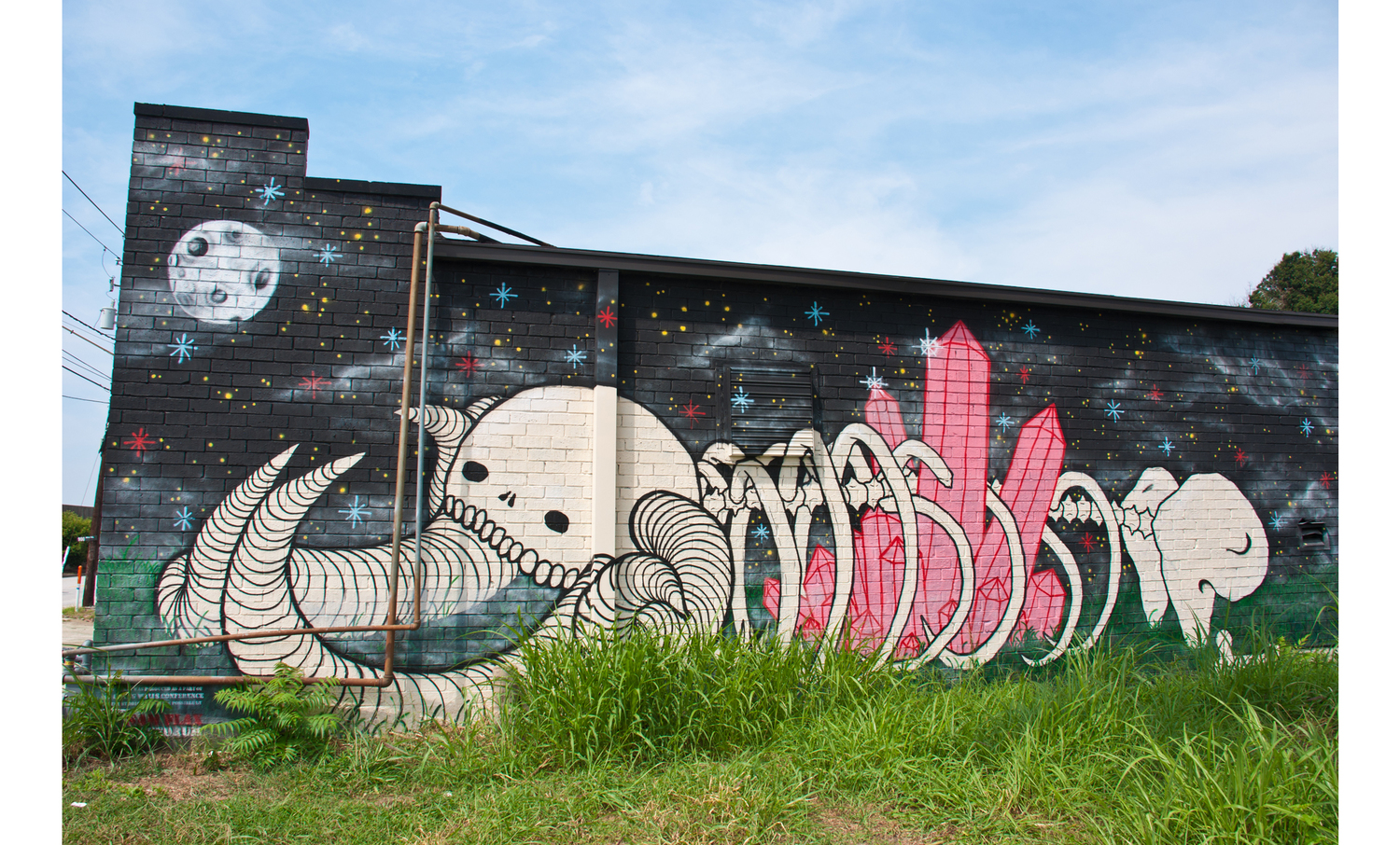 Improving places through street murals in Atlanta