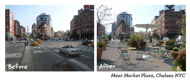 Meat market Plaza Chelsea NYC