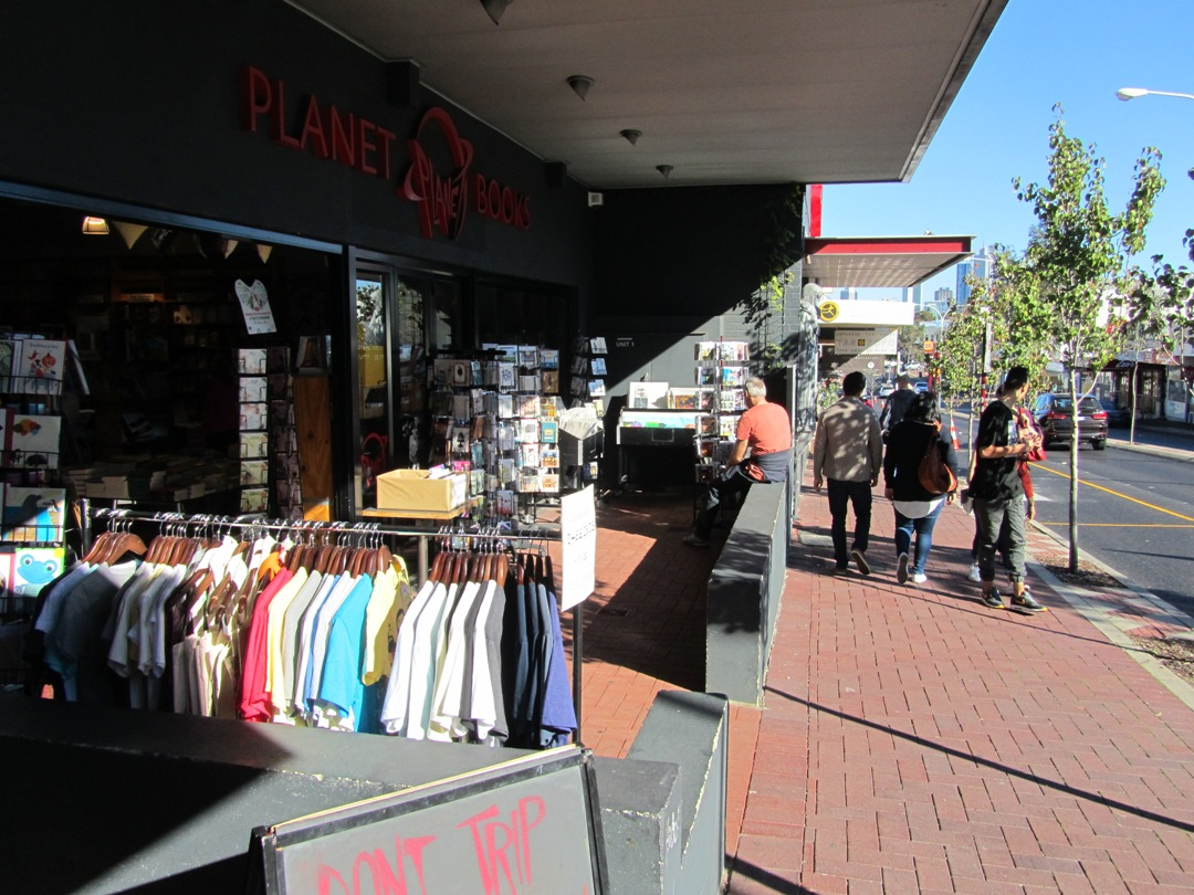 Planet Books Beaufort Street