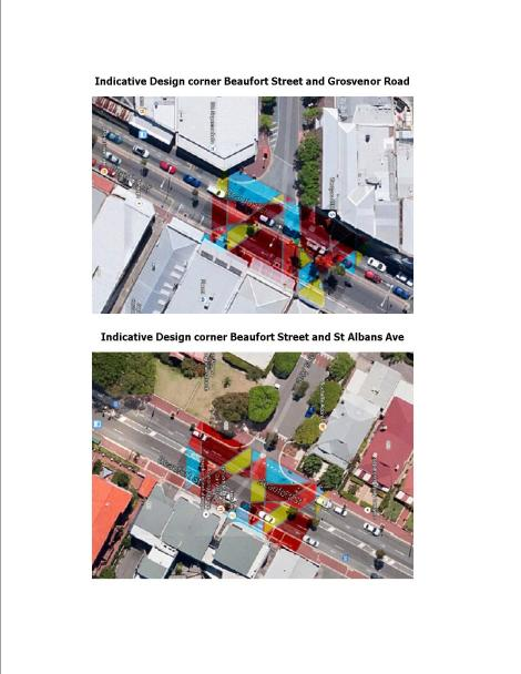 Indicative Final Designs for Bus Lanes